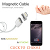 2016 New Design Magnetic Usb Cable For iPhone 5 5S 6 Plus 6S iPad 4 5 mini Air2