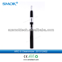 huge vapor e cigarette alibaba uk hot selling plastic aro ii clearomizer dropshipping