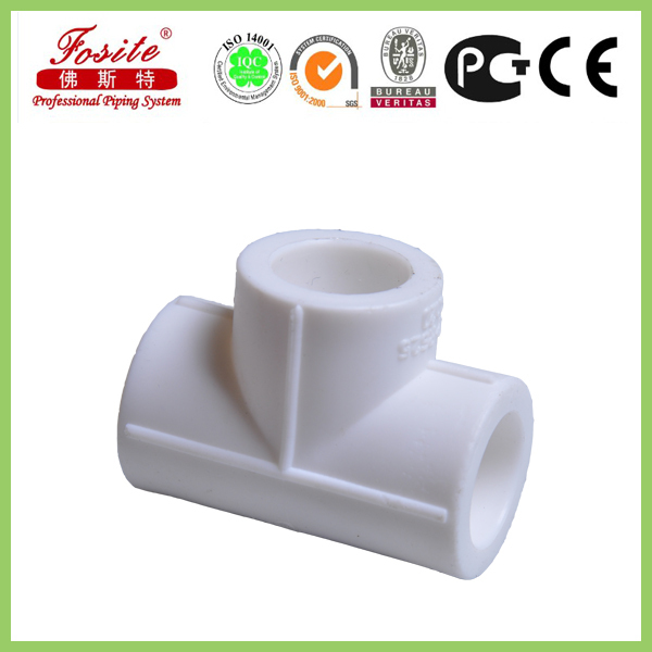 bell end ppr pipe fitting:tee