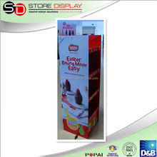 Baking cake point of purchase good quality of cardboard display