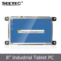 Industrial Embedded Touch screen WINDOW CE Linux OS WIFI optional best 8 inch cheap tablet pc for Advertising digital signature