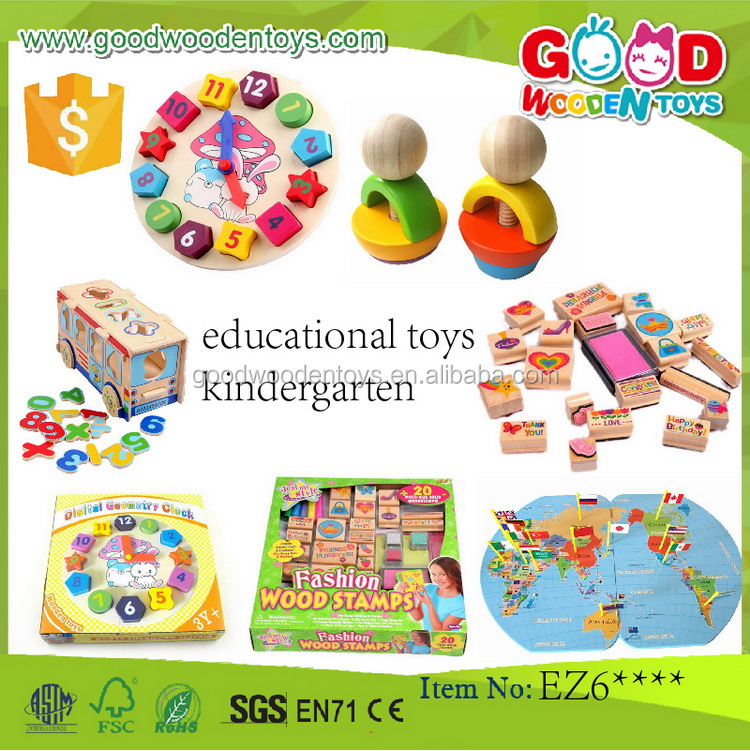 EN71/ASTM top sale educational toys kindergarten for children OEM/ODM wooden block toy