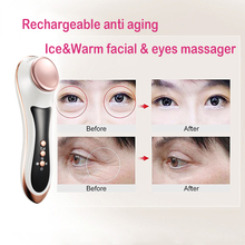 Mini Anti Aging Ice&Warm Eye Massager Vibration Eye Massager Tool
