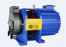 Elevator traction machine, gearless traction machine, PM motor for villa lift parts