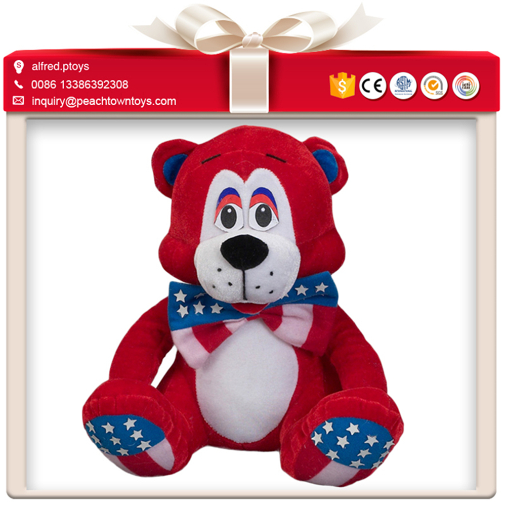 America super hero future description of teddy bear