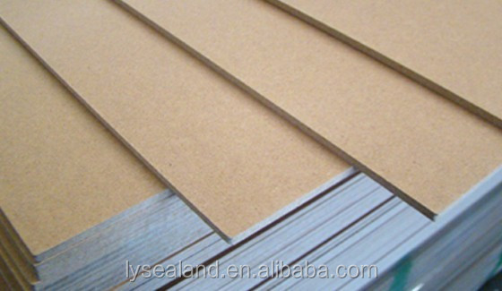 Professional laminated mdf board with high quality raw mdf/Plain MDF board of matt surface for decoration