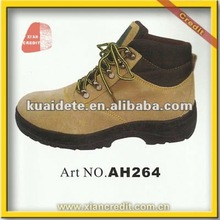 Fast selling Cow leather steel toe man shoe
