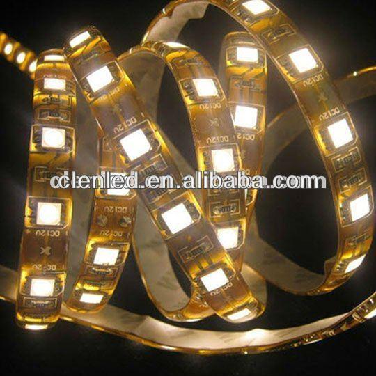 China 5050 60leds/m 12v led strip tiffany jewelry light