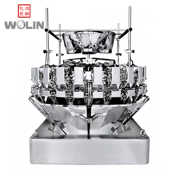 High accuracy 24heads multihead weigher filling packaging machine for mixed product sunflower seeds nuts