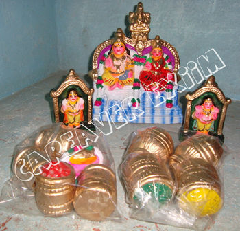 traditional golu dolls