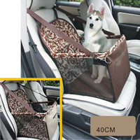 Dog Car Seat Booster Auto Pet Dog Cat Carrier Puppy Safety Basket Sheepskin Travel