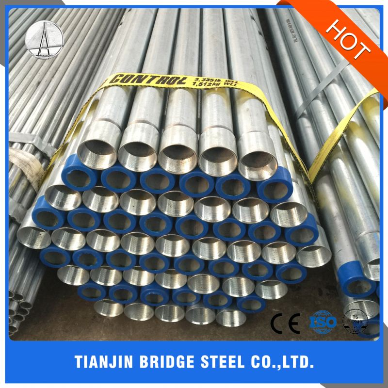 Popular High Quality Custom Thick Wall Hollow Galvanized Steel Pipe Price