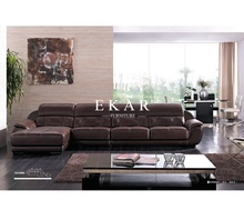 Living room recliner tufted pure brushed leather mart sectional sofa india furniture