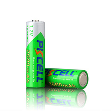 OEM Welcome Shenzhen PKCELL 1.2V AA2600mah Ni-MH Pre-charged for use battery