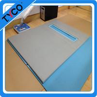 DIY Foam Shower Pans for Tile easy installing