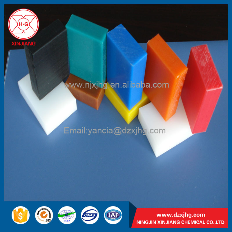 UHMWPE durable colored plastic sheet thin 3mm