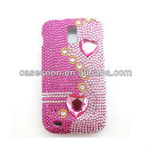Diamond Case,Fashion Bling case for Samsung Galaxy S II SGH-T989 snap on Case