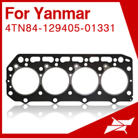 4TN84 head gasket for yanmar tractor for komatsu mini excavator engine parts