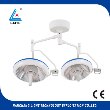 Operation Room Double headed Ceiling LED Surgical Shadowless Lamp