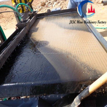 JXSC 6s shaking table for gold cotan Tin tunsten recovery