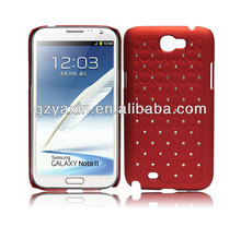 Hot sell new product jewel shape for samsung galaxy note 2 cute cases