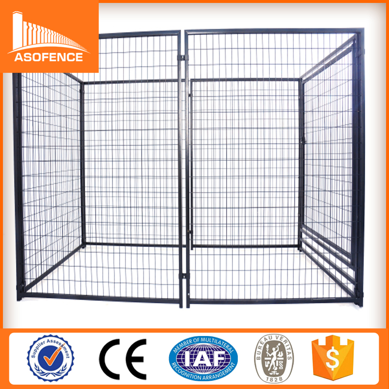 Heavy duty galvanized mental storage cage, Temporary metal outdoor dog fence