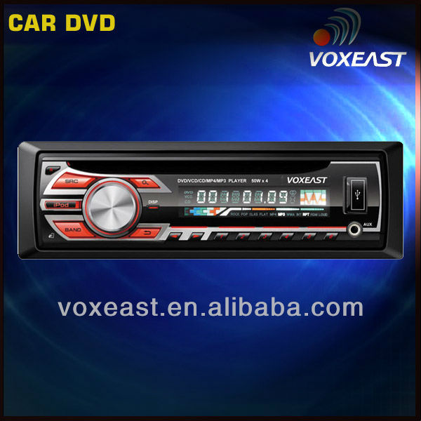 one din Car DVD player with Subwoofer