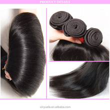 Grade 7A brazilian human virgin Hair extensions straight hair for wholesales