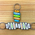 Fast delivery cheap custom soft pvc keychain factory