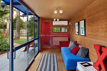prefabricated wooden container house