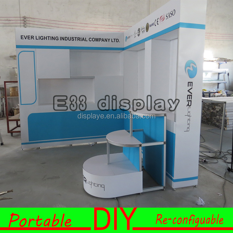 Hot Sale High Quality Portable Reusable Trade Show Display Booth