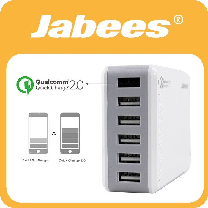 Jabees USB Charger charging Dock Stand Docking Station for iPhone Samsung