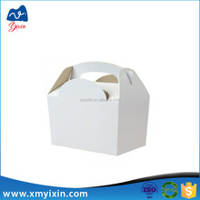 Cardboard delivery fda approved food packaging boxes