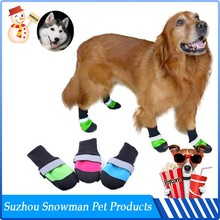 Promotional Logo Printed Waterproof dog winter boots