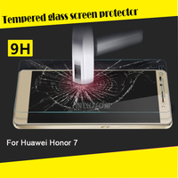 New Arrival! Alibaba China Factory Price Wholesale Tempered Glass Screen Film for Huawei Honor 7 tempered glass