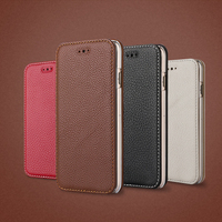 Genuine Leather Phone Case with card holder case leather for iphone 6s
