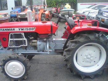 Used YANMAR Tractor YM1500D power tiller