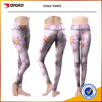 OEM top quality stretch yoga pants sex girl