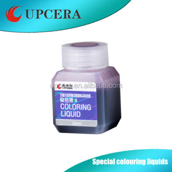 Gum simulation coloring liquid used for dental zirconia blank