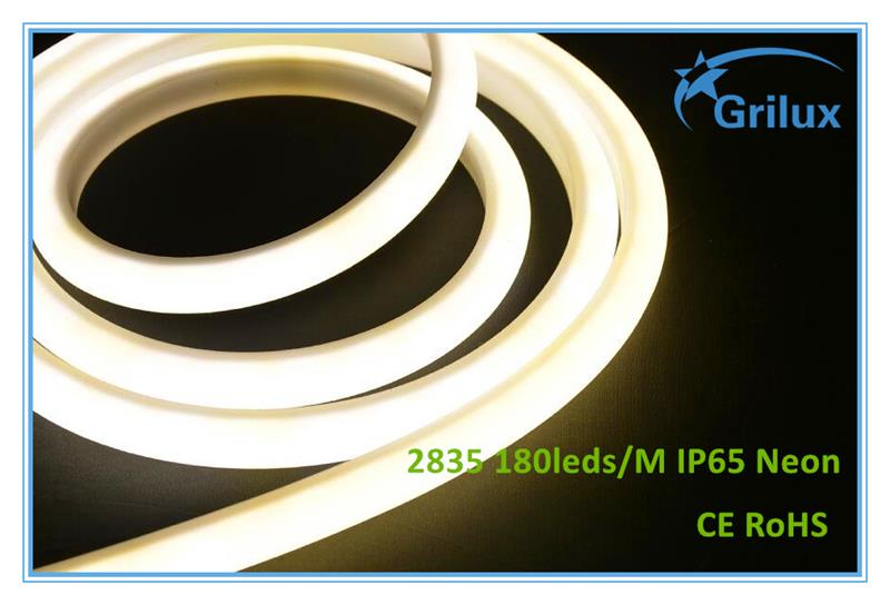 Free Sample double side led neon flex rope light led neon flex rope light 14x26mm led neon flex snowfall
