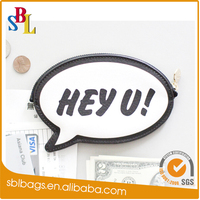 Funny design customized promotional PU coin purse gifts with logo