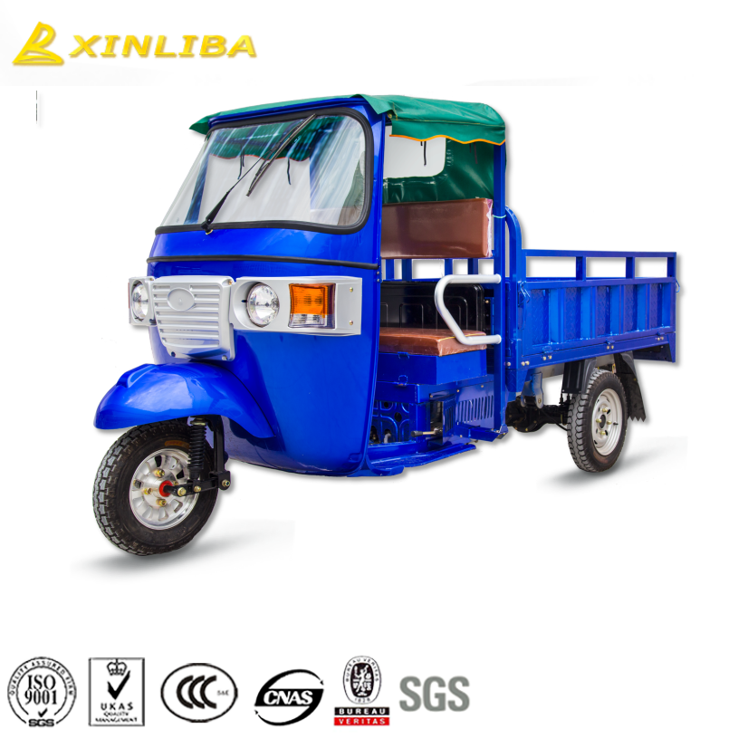 heavy duty closed cabin three wheel advertising motorcycle cheap price