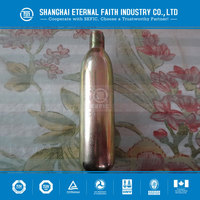 customized CO2 Cartridge Coke beer CO2 gas customized soda beverage soft drink CO2 gas bottle