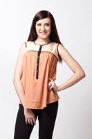 Ladies casual tops latest designs.
