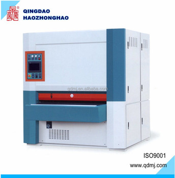 Segmental piano pad sanding machine for panel