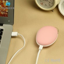 Factory price rechargeable usb mini electric hand warmer innovative gift hand heater with power bank