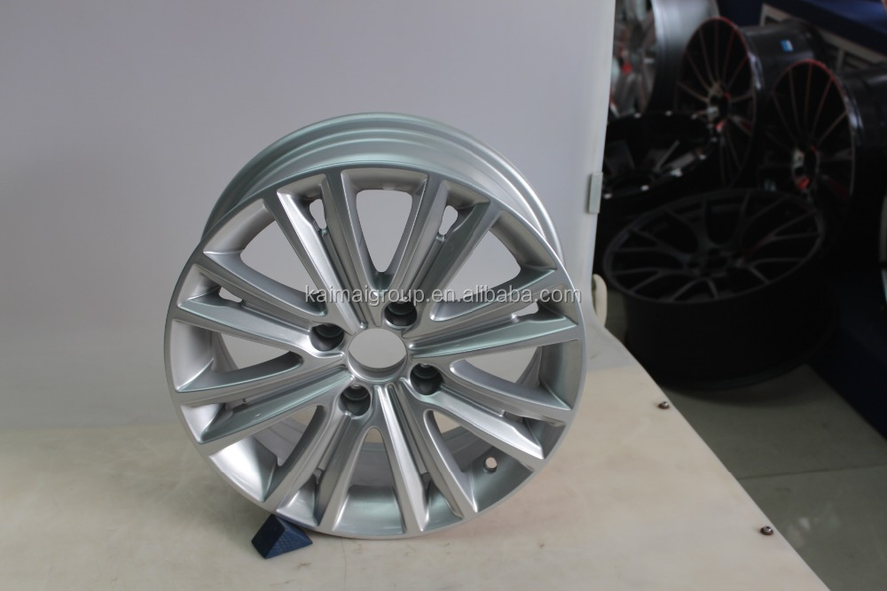 popular car alloy wheel /hub | 4 holes | 8 spokes | 17 inch 18 inch 19 inch