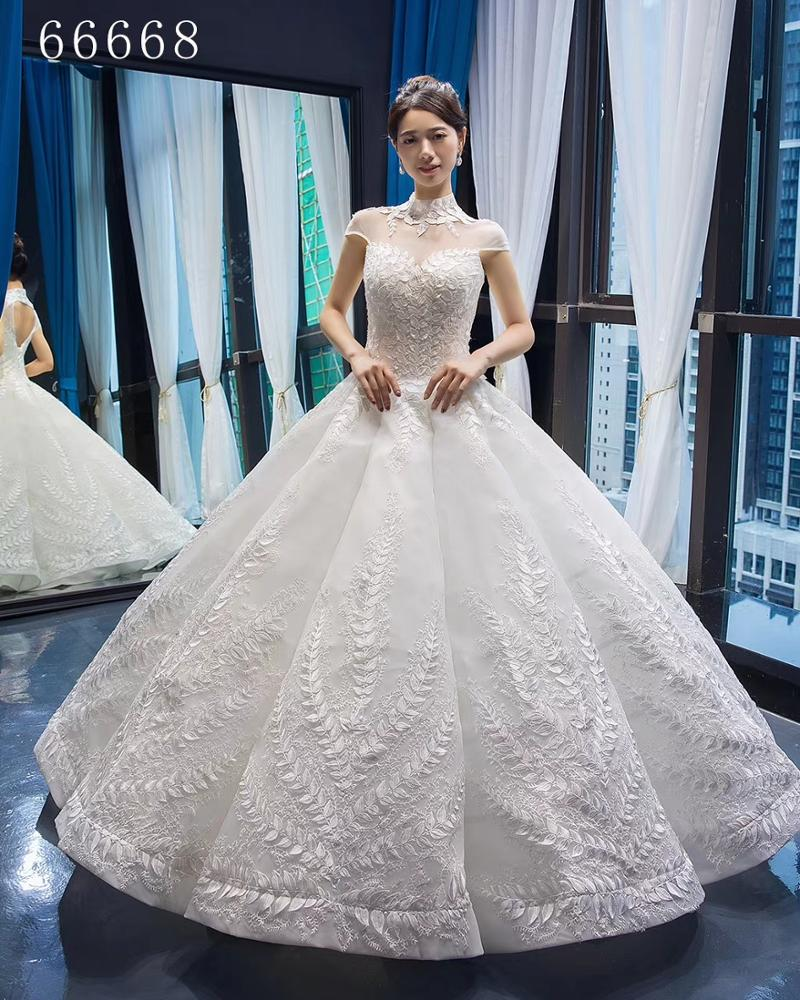 RSM66668 Jancember new design beauty bridal luxury designer simple wedding dress bridal gown lace