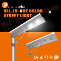 China supplier solar panel 30w all in one solar led street light