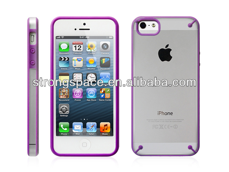 Good price high quality tpu+pc case cover for iphone 5 from China supplier